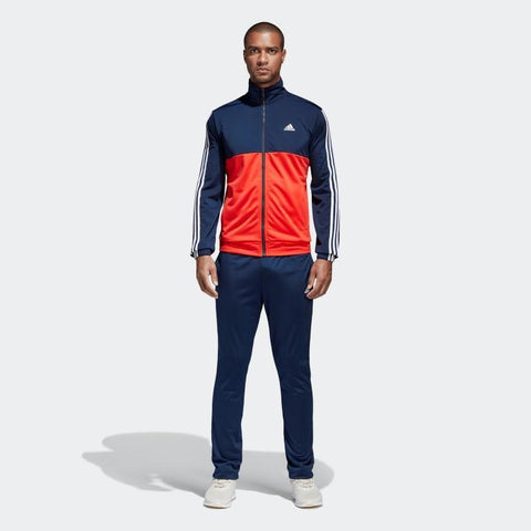 Adidas Back 2 Basics 3 Stripes Tricot Men's Tracksuit-Mikka Online