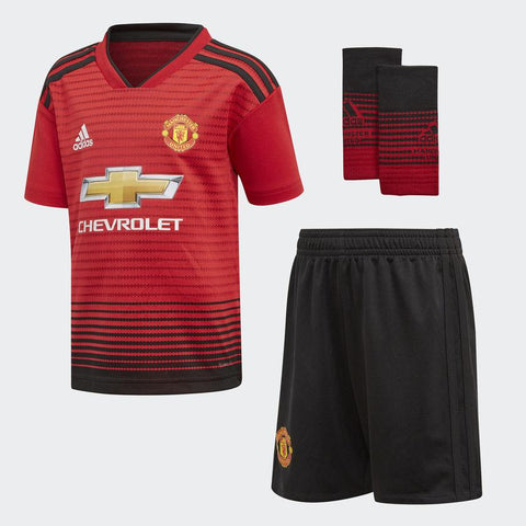 Adidas Manchester United Home 2018/19 Kids' Mini Kit-Mikka Online