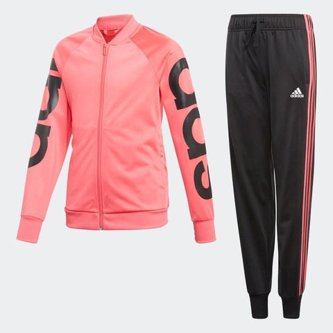 Adidas Young Girls Linear Tracksuit-Mikka Online