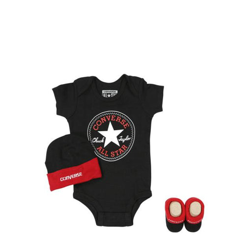 Converse All Star Baby Classic Chuck Patch Three-Piece Boxed Set-Mikka Online