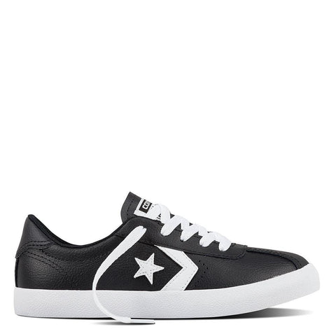 Converse Breakpoint Leather Youth Low Top - Black-Mikka Online