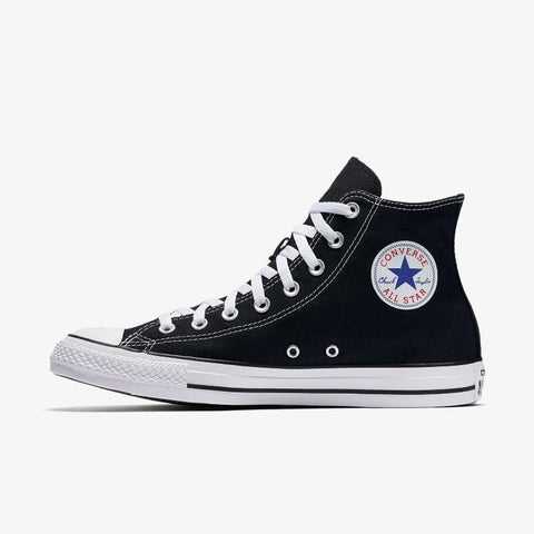 Converse Chuck Taylor All Star Canvas Hi Top - Black-Mikka Online