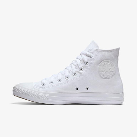 Converse Chuck Taylor All Star Canvas Hi Top - White Mono-Mikka Online