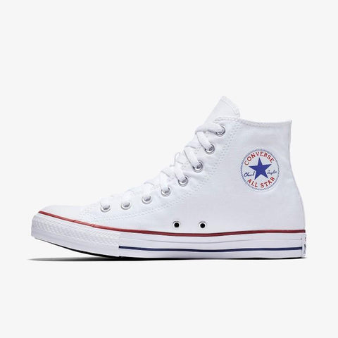 Converse Chuck Taylor All Star Canvas Hi Top - White-Mikka Online