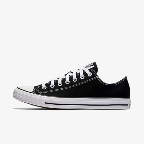 Converse Chuck Taylor All Star Canvas Lo Top - Black-Mikka Online
