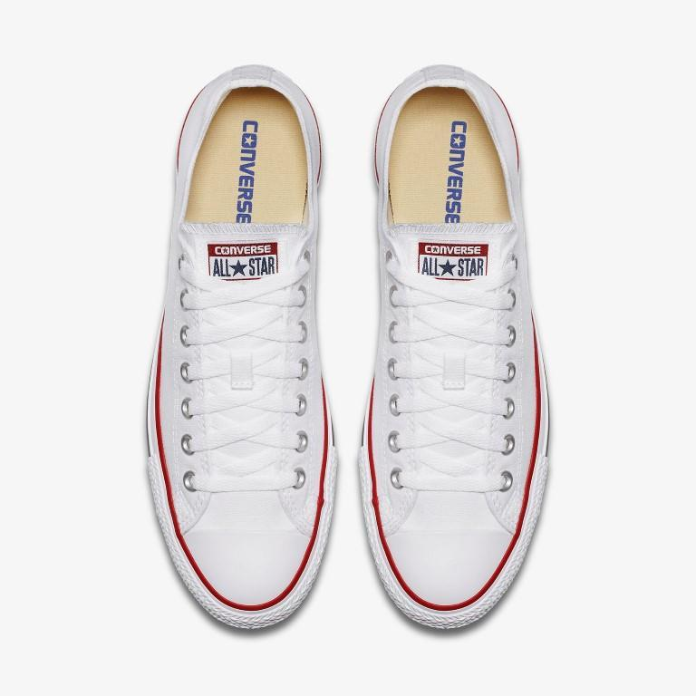 Converse Chuck Taylor All Star Canvas Lo Top - White-Mikka Online