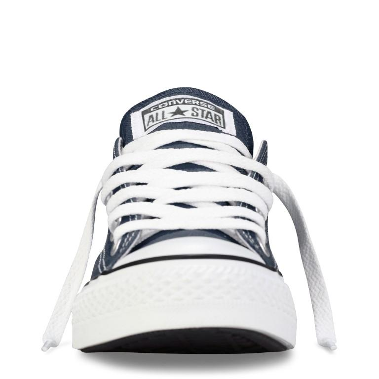 Converse Chuck Taylor All Star Classic Canvas Kid's Lo Top - Navy-Mikka Online