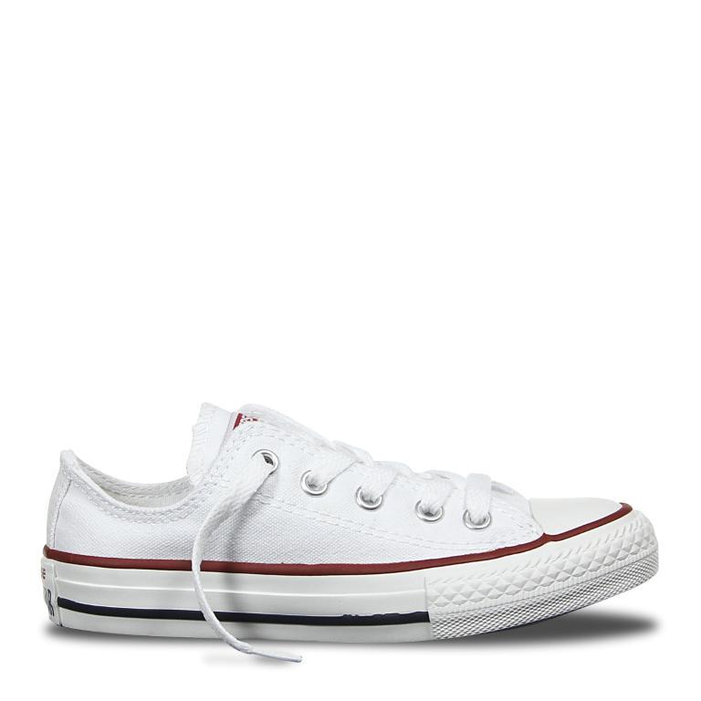 c4548bffc7e9 ... best price converse chuck taylor all star classic canvas kids lo top  white mikka online 752d5