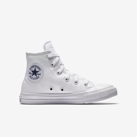 c937694c40e7 Converse Chuck Taylor All Star II Canvas Kid s Hi Top - White-Mikka Online