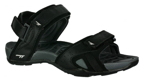 Hi-Tec ULA Unisex Sandals - Black / Charcoal / Cool Grey-Mikka Online