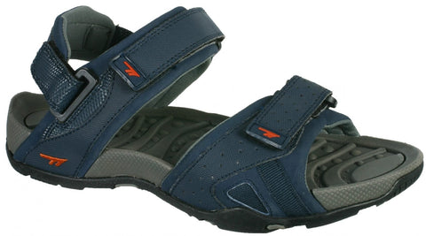 Hi-Tec ULA Unisex Sandals - Navy / Burnt Orange-Mikka Online