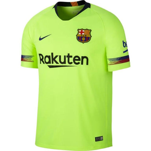 Nike Breathe FC Barcelona 2018/19 Away Stadium Men's Soccer Jersey-Mikka Online