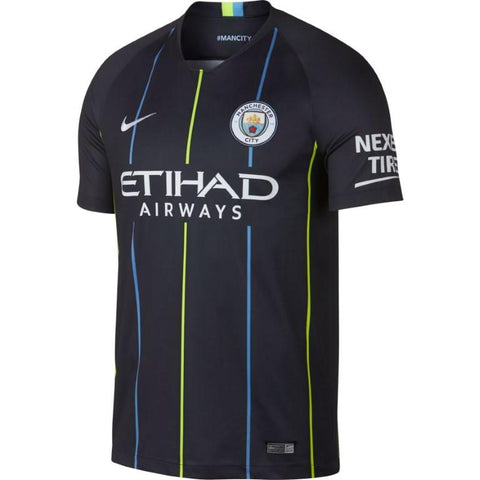 Nike Breathe Manchester City FC 2018/19 Away Stadium Men's Soccer Jersey