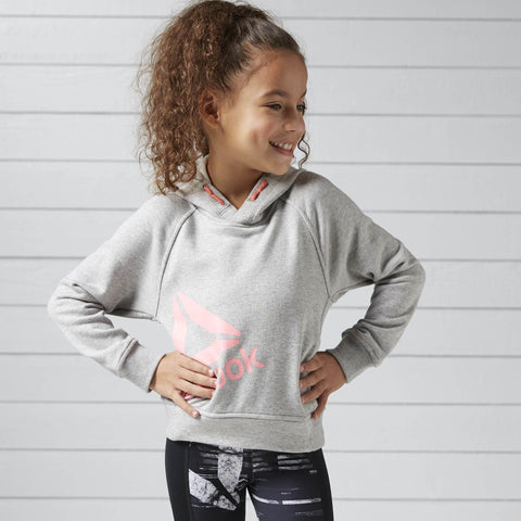 Reebok Girls Essentials Over The Head Hoodie-Mikka Online