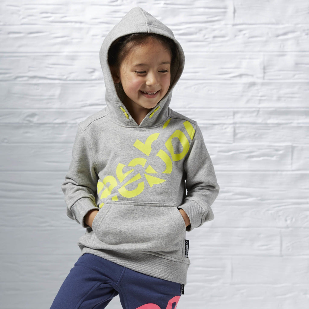 Reebok Kid's Essentials Junior Pullover Hooded Sweat Top-Mikka Online