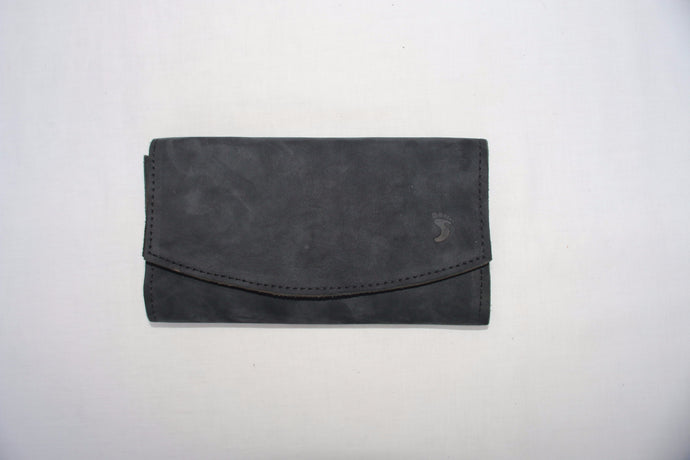 Black Soft Leather Purse