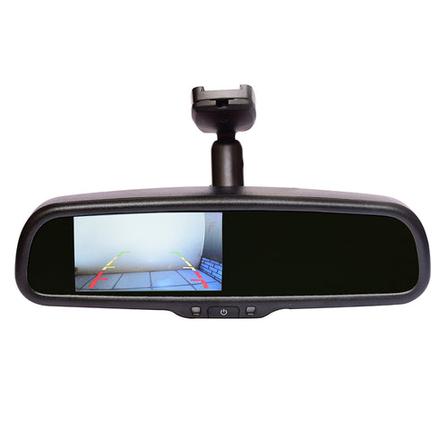 Reverse camera with auto-brightness monitor (in-mirror) RCMAD-2000