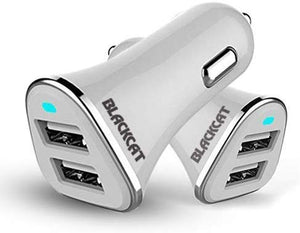 Blackcat Dual Port Fast Car Mobile Charger 3.1A Jiffy D