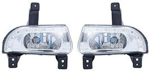 Blackcat Scorpio Fog Light with DRL (Set of 2) with Wiring Harness & Switch; High Power LED