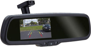Reverse camera with auto-brightness monitor (in-mirror) RCM AD N