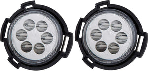 Blackcat LED Fog Lamp compatible with Tata Tiago & Tata Tigor | OEM Quality | Pair of 2 (Left + Right) | Original Fitment