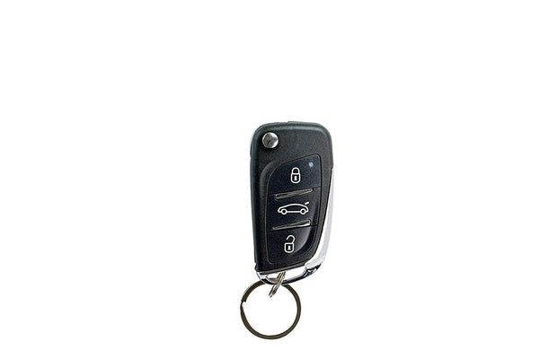 Blackcat Car Central Locking System with OEM style Flip Remotes, 5 Door Lock Motors