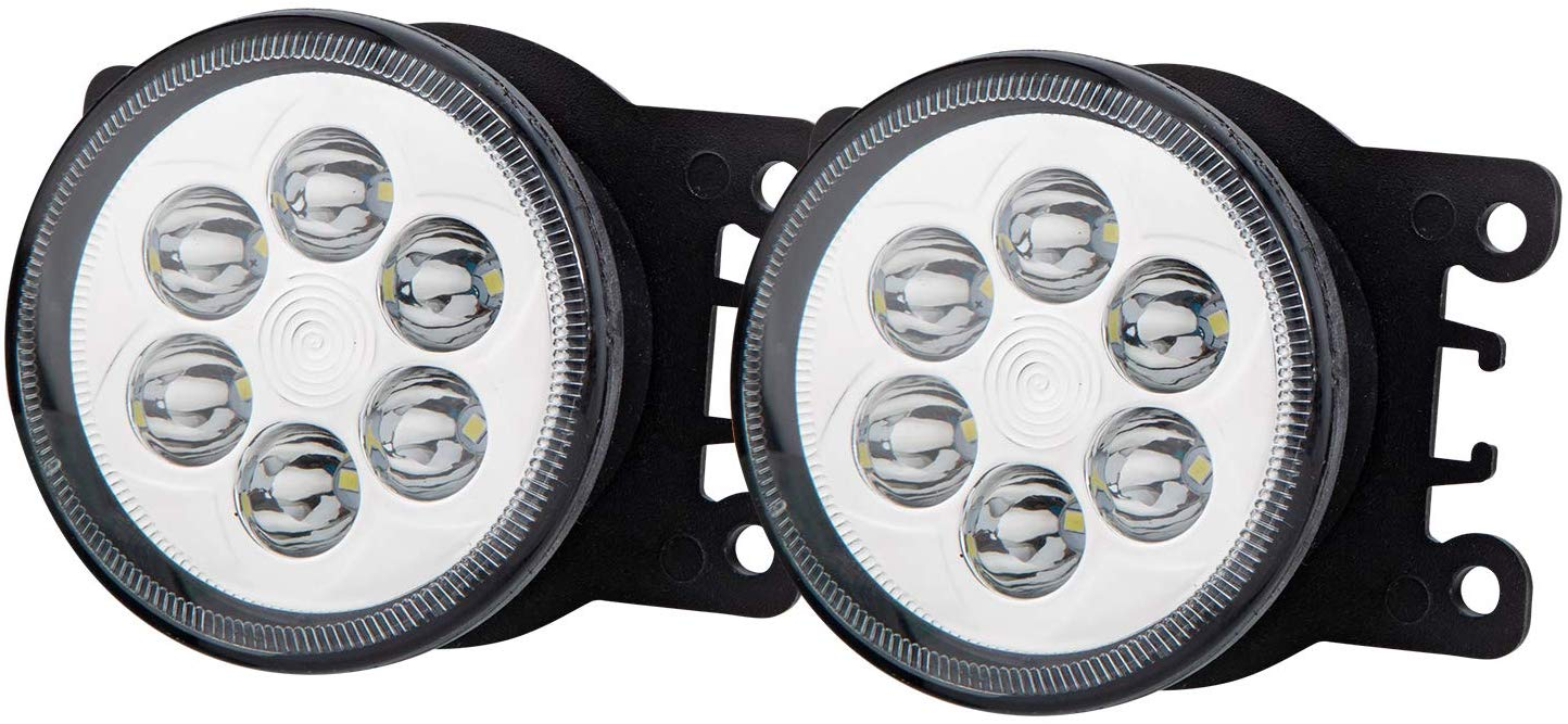 Blackcat LED Fog Lamp for Tata Nexon | OEM Quality | Pair of 2 (Left + Right)