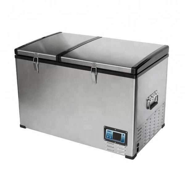 Car-O-Bar Car Refrigerator with Compressor (AC/DC) 100L. - Dual Compartment