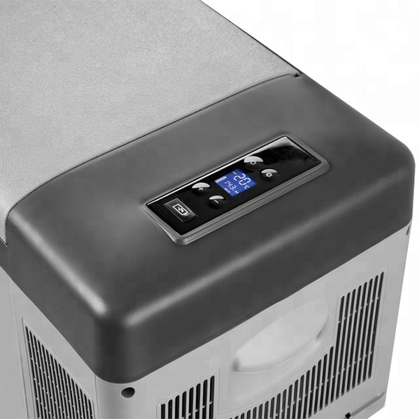 30L Car Compressor Refrigerator (AC/DC) on wheels with LED display
