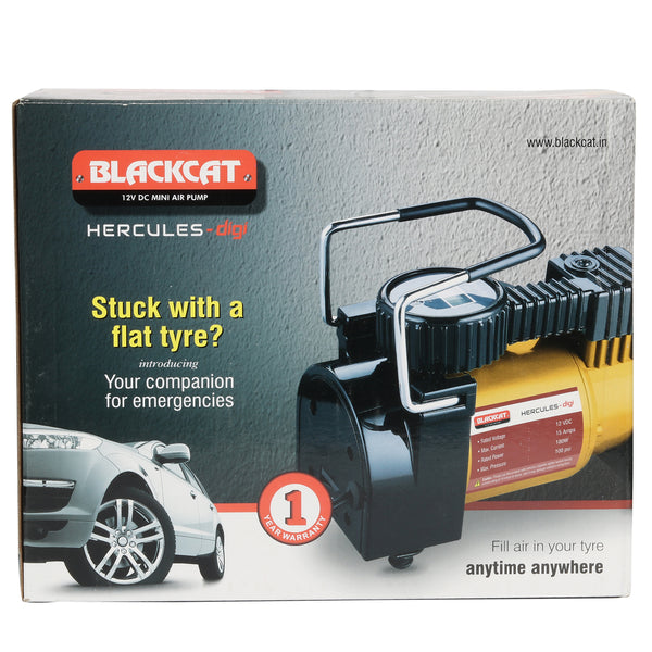 Blackcat Analog Heavy duty tyre inflator for Cars & SUVs