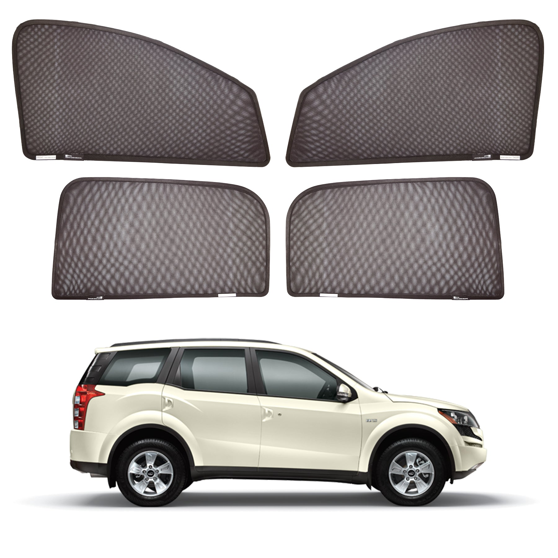 XUV magnetic sunshades set of 4