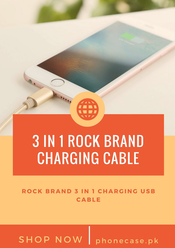 3 IN 1 CHARGING USB CABLE FOR IPHONE AND ALL ANDROID DEVICES