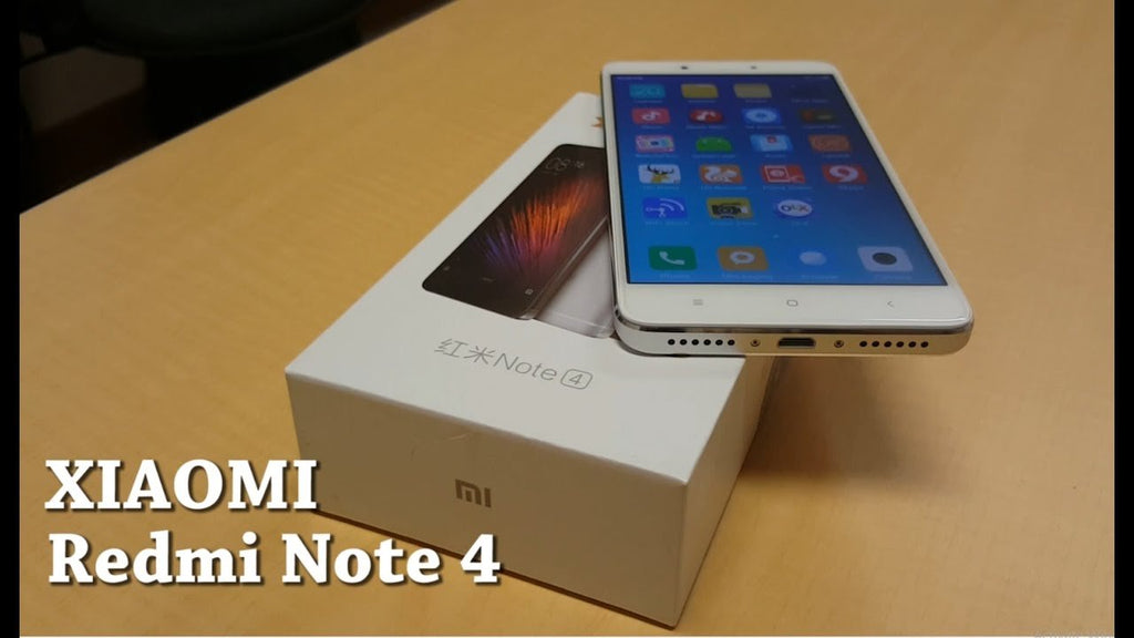 XIAOMI REDMI NOTE 4 UN BOXING AND QUICK REVIEW 2017 IN PAKISTAN