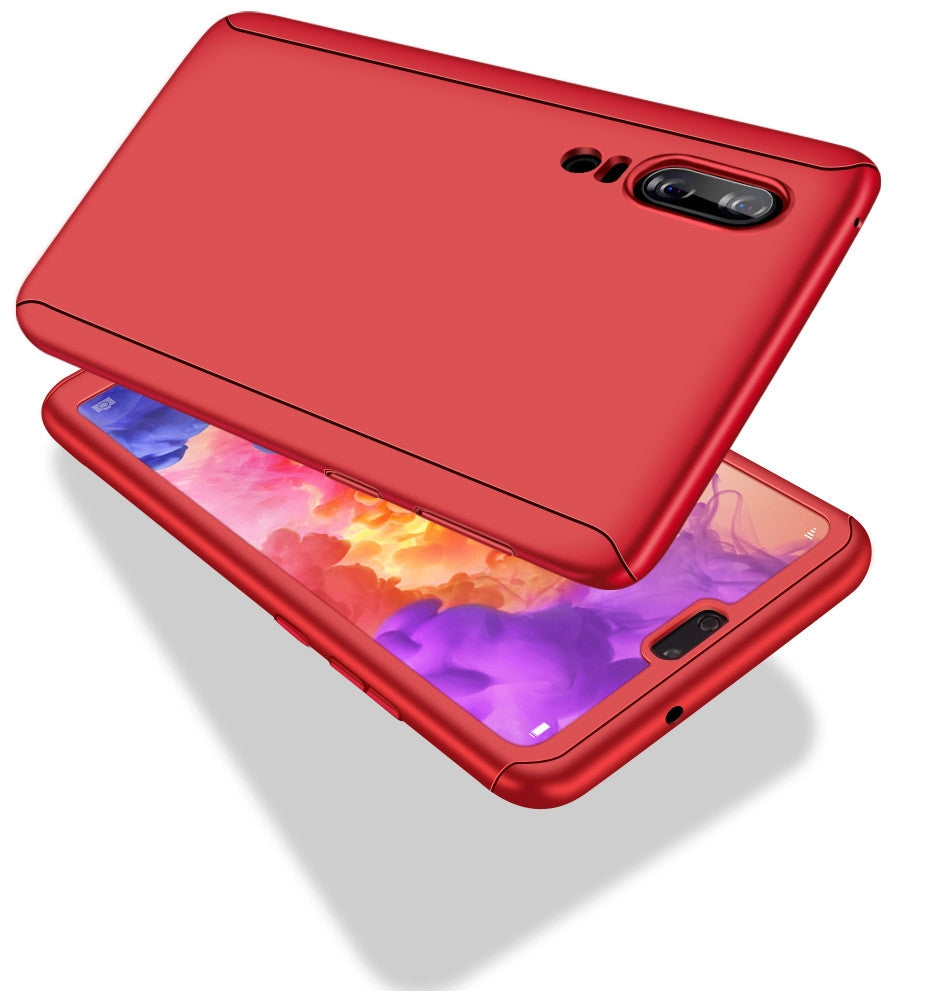 huawei p20 lite case red