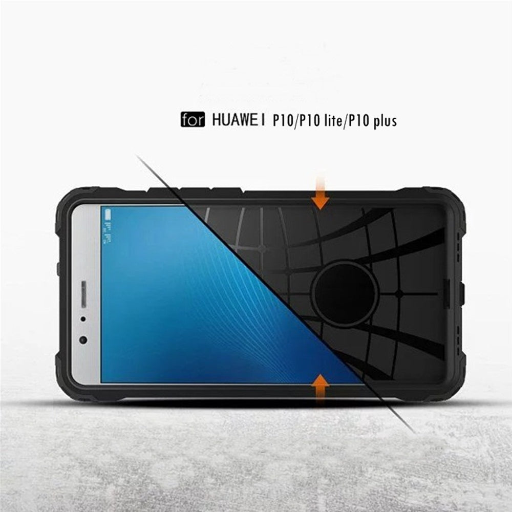Huawei phonecase back cover Super armor case in Black color for p10/p10lite/p10 plus in pakistan on phonecase buy now