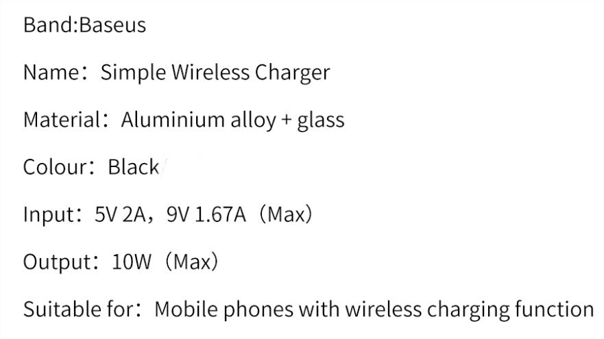 baseus wireless charger buy in pakistan