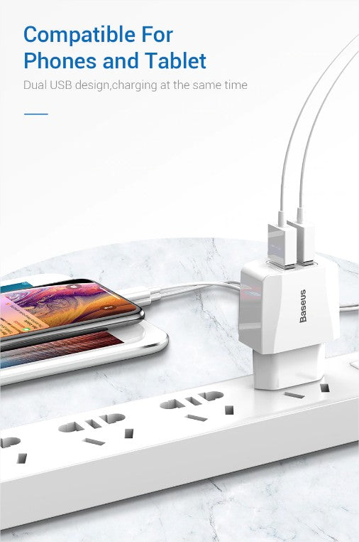baseus fast dual charger buy in pakistan