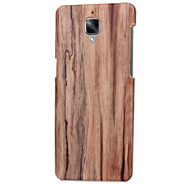 OnePlus 3T branded cover in Pakistan wooden style