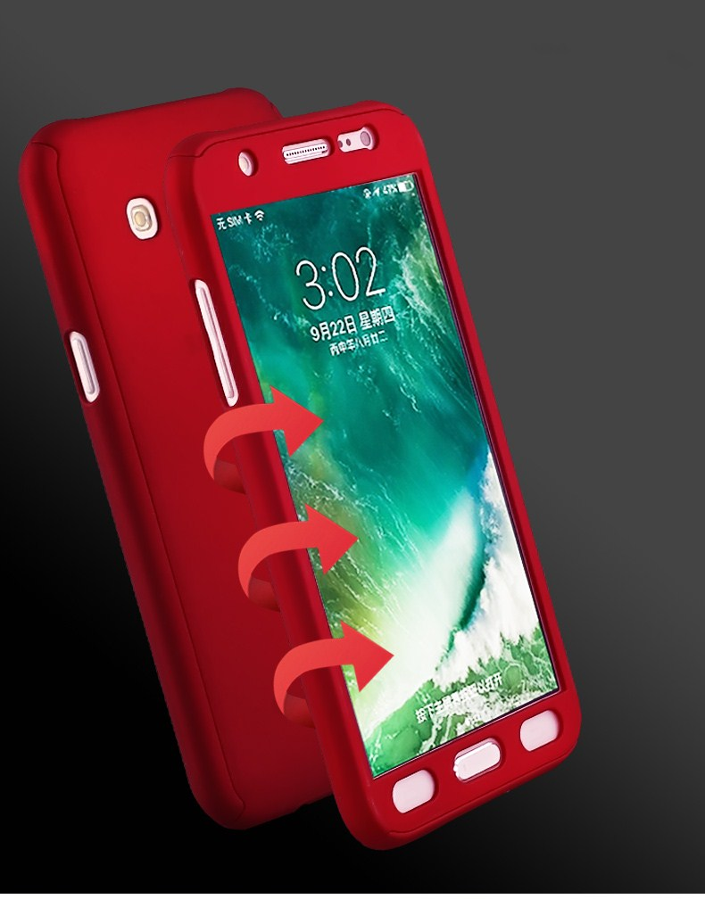 samsung 360 degree cover red