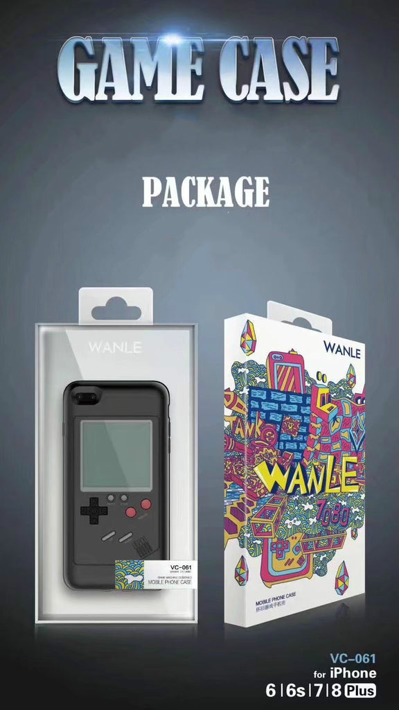 iphone game boy case packaging