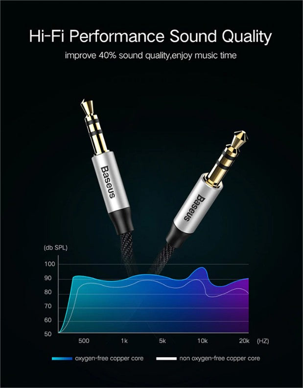 baseus AUX cable branded buy in pakistan