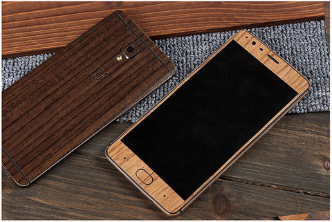 oneplus 3/3T carbon skin wooden in Pakistan buy online