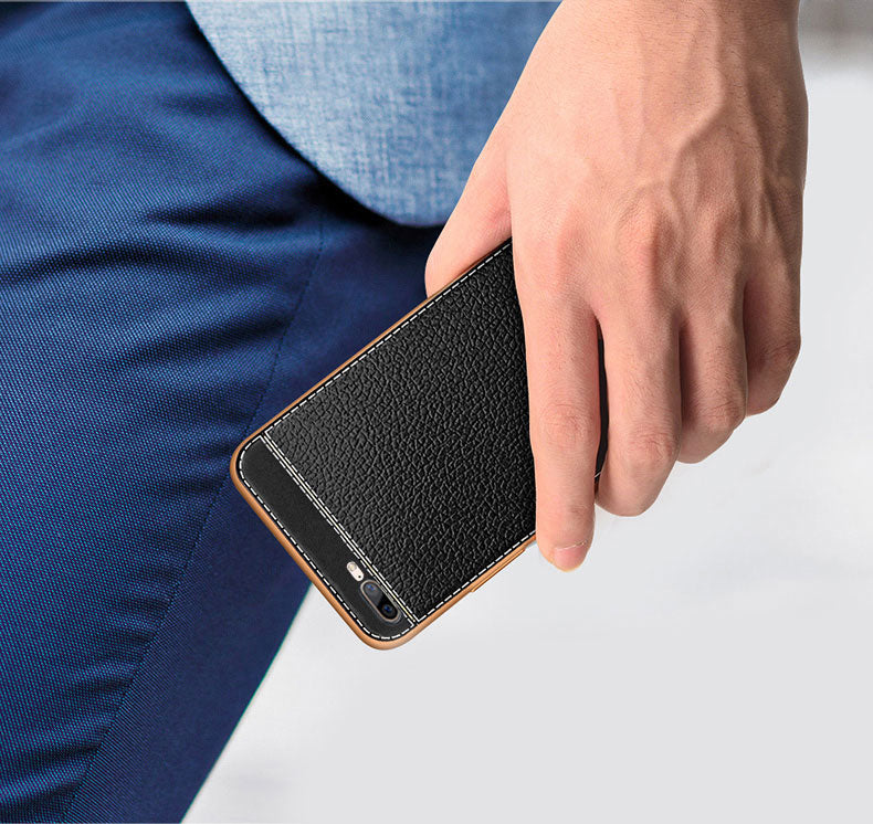Oneplus 5 Leather Soft pu Case  in hand for online buy