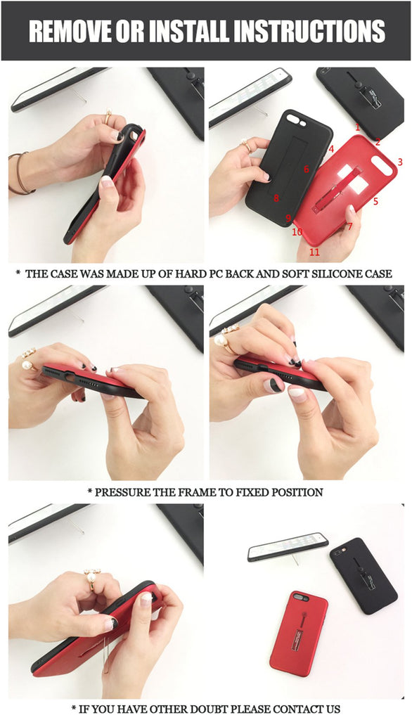iphone  branded case how to use