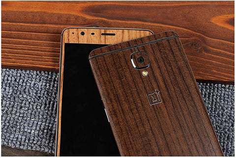 oneplus 3/3T carbon wooden skin buy online free delivery Pakistan