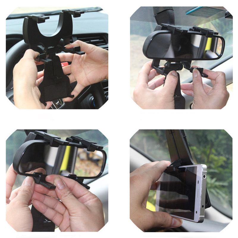 Mobile car rear view holder in pakistan