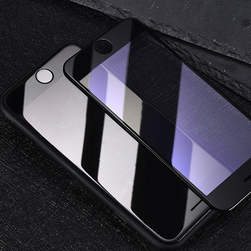 4d tempered glass for all iphone in black color But Now on phonecasepk