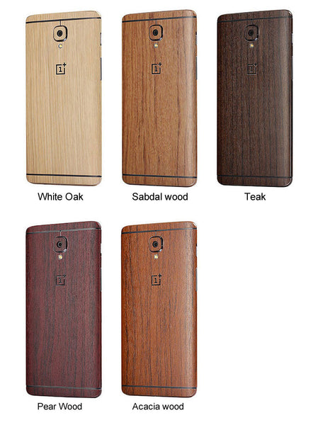 oneplus 3 skin wrap wooden case in pakistan