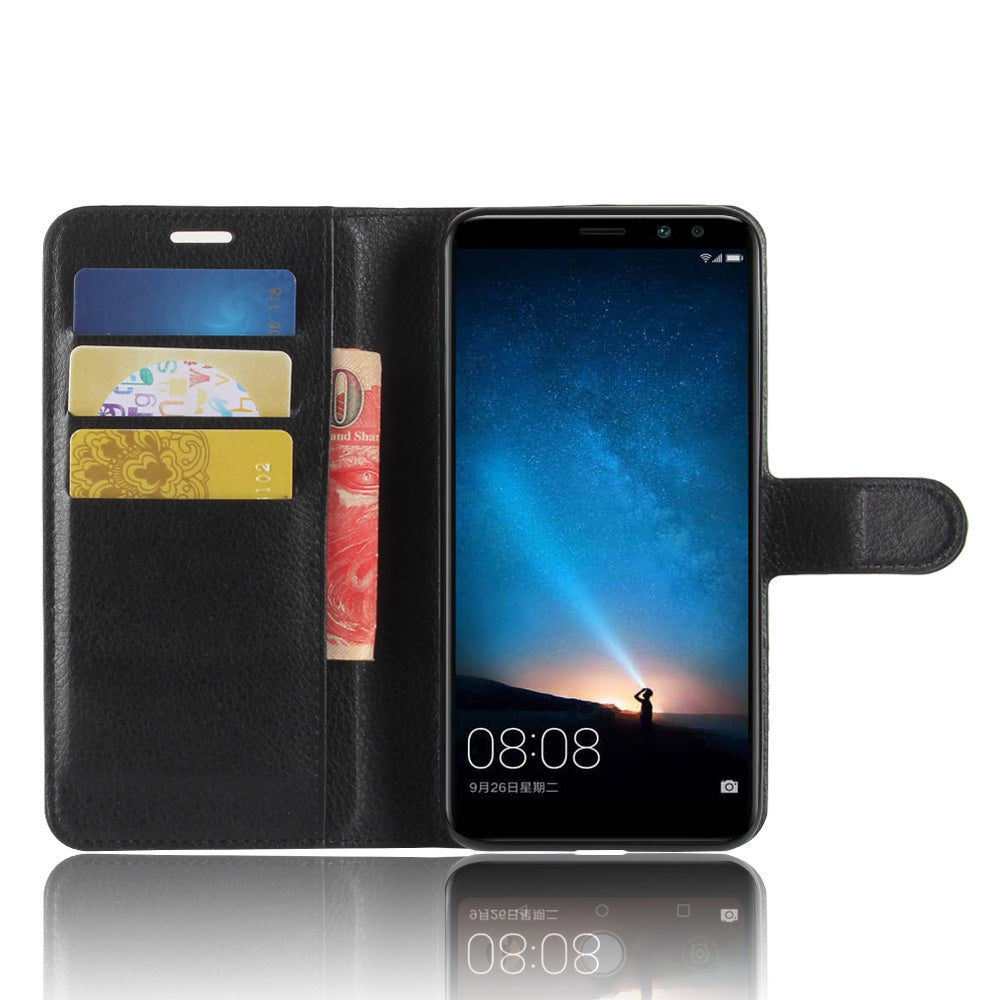 huawei mate 10 lite leather flip cover