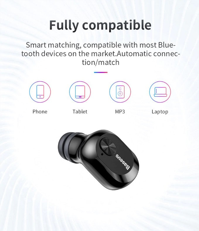 Baseus W01 TWS Bluetooth Earphone Wireless Headphone Bluetooth 5.0 Stereo Bass Wireless earphones With HD Microphone buy in pakistan